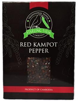 Roter Kampot Pfeffer -